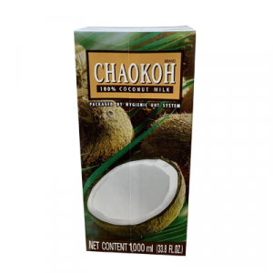 Nước Cốt Dừa Chaokod Hộp Giấy 1000ml
