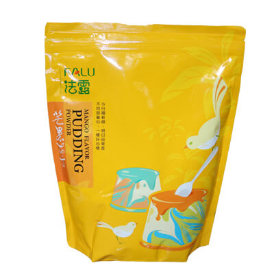 Bột Pudding Flan Xoài Hiệu Falu Đài Loan Gói 1kg