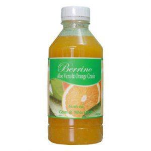 Sinh tố Cam – Nha đam Berrino Aloe Vera & Orange – chai 1L