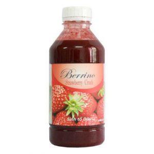 Sinh tố Dâu tây Berrino Strawberry – chai 1L