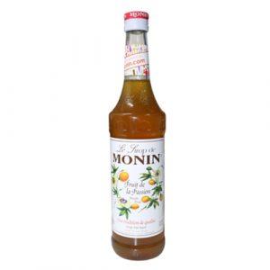 Sirô Chanh leo (lạc tiên) hiệu MONIN – chai 70CL