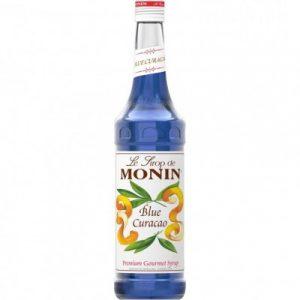 Sirô Curacao xanh hiệu MONIN – chai 700ml