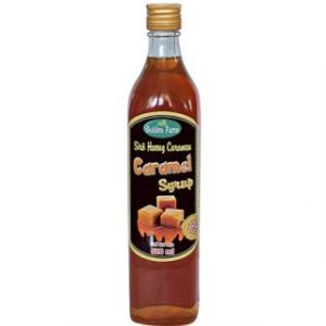 Siro caramel golden farm 520ml