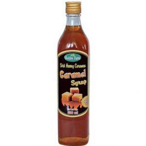 Siro caramel golden farm 520ml