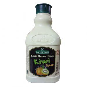 Siro hương kiwi golden farm can 2 lít