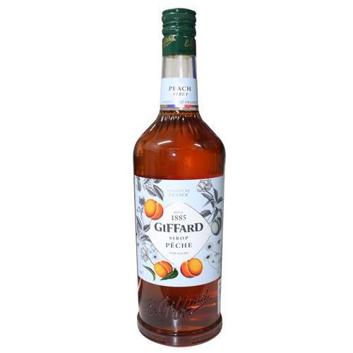Siro Vị Đào Hiệu Giffard – chai 1L