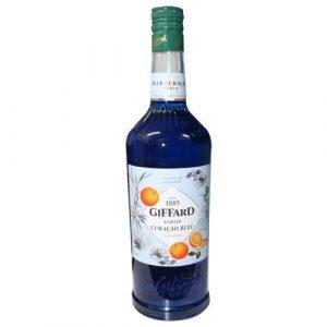 Sirô Vỏ cam xanh Giffard Blue Curacao – chai 1L
