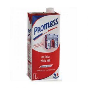 Sữa Tươi Promess Nguyên Kem Tiệt Trùng Hộp 1 Lít