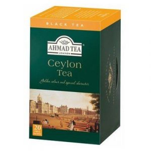 Trà AHMAD Ceylon - Hộp giấy 40gram/20 túi lọc