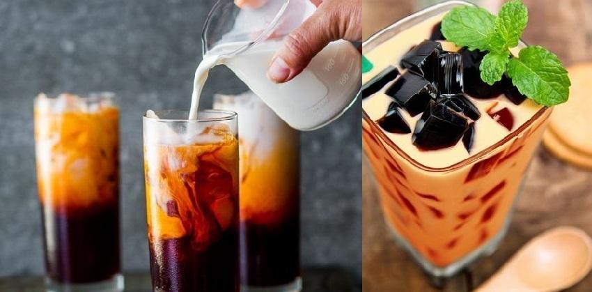 Sức hút cực lớn từ những cốc trà sữa thái đỏ