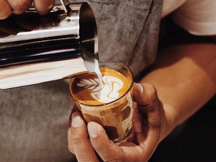 Sự sánh quyện của Cafe