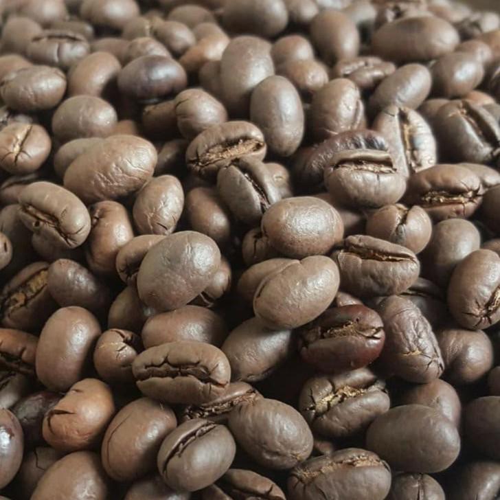 Hạt cà phê Culi tròn trịa như hạt đậu