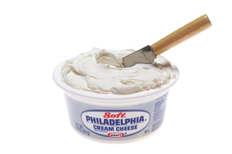 Kem cheese Philadelphia